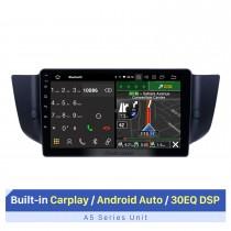 Pantalla táctil HD 2010-2015 MG6 / 2008-2014 Roewe 500 Android 10.0 Radio de navegación GPS de 9 pulgadas Soporte Bluetooth AUX Carplay Cámara trasera