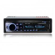 Universal Din Din Audio Llamadas manos libres Bluetooth Reproductor de MP3 Radio FM estéreo de coche con 4 canales de salida USB SD Control remoto Aux