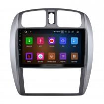 Pantalla táctil HD 9 pulgadas Android 10.0 para 2002-2008 Mazda 323/09 / FAW Haima Preema / Ford Laser Radio Sistema de navegación GPS Bluetooth Carplay compatible con cámara de respaldo
