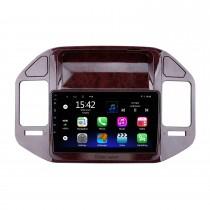 Android 10.0 de 9 pulgadas para 2004-2011 Mitsubishi V73 Pajero Radio Sistema de navegación GPS con pantalla táctil HD Soporte Bluetooth Carplay OBD2