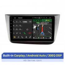 Para 2004-2015 Seat Altea LHD Carplay / Android Auto Car Audio con GPS Soporte Bluetooh AHD Camera 1080P Video Player