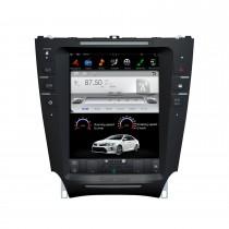10.4 pulgadas Android 9.0 Car Stereo Sat Multimedia Player para 2005-2015 Lexus IS Sistema de navegación GPS con soporte Bluetooth Carplay