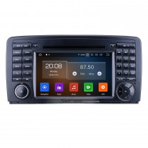 7 pulgadas Android 10.0 para 2006-2011 2012 2013 Mercedes Benz Clase R W251 R280 R300 R320 R350 R500 R63 Radio con pantalla táctil HD Navegación GPS Carplay Soporte Bluetooth 1080P