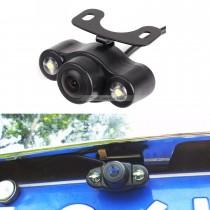 170 grados de gran ángulo de visión nocturna de HD cámara de copia de seguridad de Rearview con coche impermeable inversión de estacionamiento sistema de asistencia