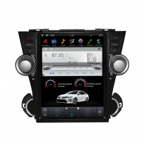 12.1 pulgadas Android 9.0 Car Stereo Sat Multimedia Player para 2008-2013 TOYOTA HIGHLANDER Sistema de navegación GPS con soporte Bluetooth Carplay