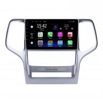 2008 2009 2010 2011 2012 Jeep Grand Cherokee 9 pulgadas Andriod 10.0 HD Touchsreen Radio para automóvil Sistema de navegación GPS con soporte Bluetooth Carplay