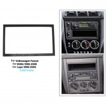 173 * 98 mm Doble Din 2008-2011 Volkswagen Passat Car Radio Fascia Stereo Dash DVD Frame CD Kit de instalación
