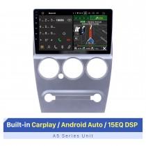 Pantalla táctil HD de 9 pulgadas para 2008-2013 Citroen Elysee Unidad principal Navegación GPS para automóvil Sistema estéreo para automóvil Soporte para cámara AHD