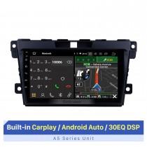 El mejor sistema estéreo Carplay para MAZDA CX-7 2008-2014 con RDS DSP Soporte Bluetooth WIFI Navegación GPS 1080P Reproductor de video
