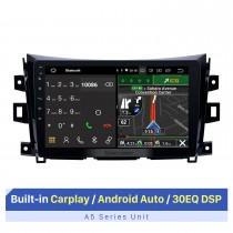 Pantalla táctil HD de 10.1 pulgadas para Nissan NAVARA Frontier NP300 / Renault Alaskan Radio 2011-2016 soporte de navegación gps para automóviles android Control del volante