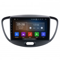 9 pulgadas para 2012 Hyundai I10 High Version Radio Android 10.0 Sistema de navegación GPS con USB HD Pantalla táctil Bluetooth Carplay compatible OBD2 DSP