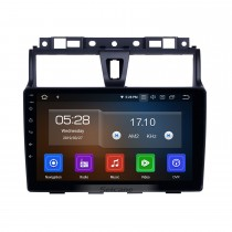 Android 10.0 Radio de navegación GPS de 9 pulgadas para 2014-2016 Geely Emgrand EC7 con pantalla táctil HD Carplay Bluetooth compatible TPMS TV digital