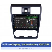 Pantalla táctil HD de 9 pulgadas para 2014-2016 Subaru Forester Radio Bluetooth Radio de coche Sistema de audio para coche Soporte 3G / 4G wifi