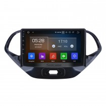 Android 10.0 para 2015 2016 2017 2018 Ford Figo Radio Navegación GPS de 9 pulgadas con pantalla táctil HD Carplay Soporte Bluetooth Bluetooth TV digital