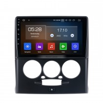 Android 10.0 HD Pantalla táctil de 9 pulgadas para 2015-2018 Radio de automóvil Sepah Pride con sistema de navegación GPS Bluetooth Aire acondicionado manual Carplay