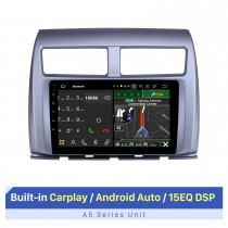 Pantalla táctil HD de 9 pulgadas para 2017 MG 3 Autostereo Android Auto con sistema de audio DSP compatible con OBD2