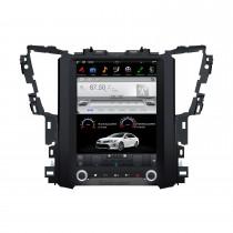 12.1 pulgadas Android 9.0 Car Stereo Sat Multimedia Player para 2015+ TOYOTA Alphard AH30 Sistema de navegación GPS con soporte Bluetooth Carplay