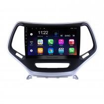 2016 Jeep Grand Cherokee 10.1 pulgadas Android 10.0 Pantalla táctil Radio Sistema de navegación GPS WIFI Bluetooth Control del volante compatible con OBD2 DVR Cámara de respaldo