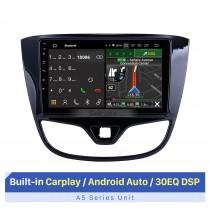 9 pulgadas para 2017 Opel Karl / Vinfast Radio Android 10.0 Sistema de navegación GPS Bluetooth HD Pantalla táctil Carplay compatible con TV digital