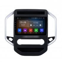 9 pulgadas Android 10.0 para 2019 MG HECTOR Radio Sistema de navegación GPS con pantalla táctil HD Bluetooth Carplay compatible con OBD2