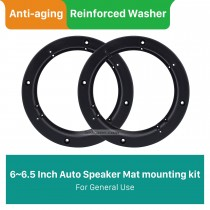 "6~6.5"" Ring Beveled Speaker Mat Bracket for General Use"