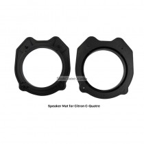 Auto Car Plates Bracket Speaker Mat for Citron C-Quatre