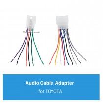 Adaptador de enchufe de sonido de coche automático Cable de audio para TOYOTA Universal / BYD F3
