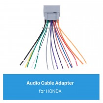 Adaptador de arnés para cables de audio de coche para 08 HONDA ACCORD / FIT