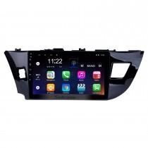 10.1 pulgadas Android 10.0 radio pantalla táctil Bluetooth sistema de navegación GPS para 2013 2014 2015 Toyota LEVIN Soporte TPMS DVR OBD II USB SD 3G WiFi Cámara trasera Control del volante HD 1080P Video AUX