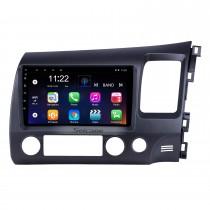 2006-2011 Honda Civic RHD 9 pulgadas Android 10.0 HD Pantalla táctil Bluetooth GPS Navegación Radio USB AUX soporte Carplay 3G WIFI Espejo Enlace TPMS