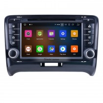 OEM 7 pulgadas Android 10.0 para 2011 Audi TT Radio Bluetooth HD Pantalla táctil Sistema de navegación GPS Carplay compatible con DVR 1080P Video
