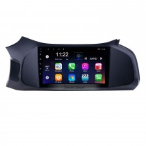 2012-2019 Chevy Chevrolet Onix Android 10.0 HD Pantalla táctil 9 pulgadas AUX Bluetooth WIFI USB GPS Navegación Radio soporte SWC Carplay