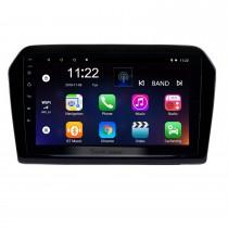 9 pulgadas 2012-2015 VW Volkswagen Jetta HD con pantalla táctil Android 10.0 Sistema de navegación GPS Bluetooth Soporte FM / AM / RDS Radio Carplay WIFI OBD II