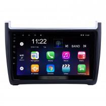 9 pulgadas 1024 * 600 Android 10.0 2012-2015 VW Volkswagen Polo Car Audio estéreo Navegación GPS con 1080P Video Bluetooth Música RDS Radio Espejo Enlace Control del volante