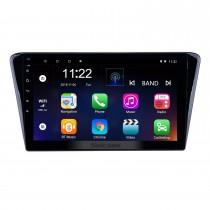 2014 Peugeot 408 Pantalla táctil Android 10.0 Unidad principal de 10.1 pulgadas Estéreo Bluetooth con USB AUX Soporte WIFI DAB + OBD2 DVR Control del volante