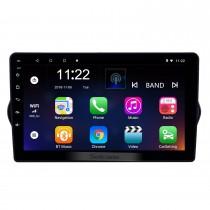 2015-2018 Fiat EGEA Android 10.0 HD Pantalla táctil 9 pulgadas Unidad principal Bluetooth Radio de navegación GPS con soporte AUX OBD2 SWC Carplay