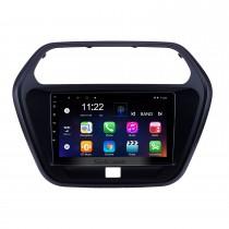 2015 Mahindra TUV300 Android 10.0 Pantalla táctil de 9 pulgadas Unidad principal Bluetooth GPS Navegación Radio con soporte AUX WIFI OBD2 DVR SWC Carplay