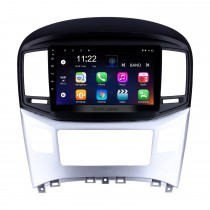 2016 2017 2018 Hyundai Starex H-1 Wagon GPS Navigation 10.1 pulgadas Android 10.0 Radio con 1024 * 600 Pantalla táctil Bluetooth USB 3G Wifi AUX Volante Contol