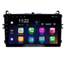 Android 10.0 Radio de navegación GPS con pantalla táctil HD de 9 pulgadas para 2016-2017 Baic E Series E130 E150 / EV Series EV160 EV200 / Senova D20 con soporte Bluetooth Carplay Cámara de respaldo