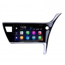 10,1 pulgadas Android 10.0 2017 Toyota Corolla Conducción con la mano derecha Coche Unidad principal HD Pantalla táctil Radio Sistema de navegación GPS Soporte 3G Wifi Cámara de visión trasera Vídeo Carplay Bluetooth DVR OBD II
