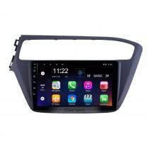 2018-2019 Hyundai i20 LHD Android 10.0 Pantalla táctil de 9 pulgadas Unidad principal Bluetooth Navegación GPS Radio con soporte AUX WIFI OBD2 DVR SWC Carplay