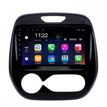 9 pulgadas Android 10.0 2011-2016 Renault Captur CLIO Samsung QM3 Auto A / C Navegación GPS Sistema de audio para automóvil Pantalla táctil Radio AM FM Radio Bluetooth Música 3G WiFi OBD2 Enlace espejo Cámara de respaldo AUX USB SD 1080P Video