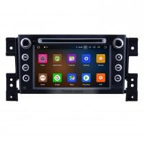 Radio de navegación GPS Android 10.0 de 7 pulgadas para 2006-2010 Suzuki Grand Vitara con pantalla táctil HD Carplay Soporte Bluetooth Bluetooth 1080P DVR