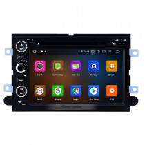 7 pulgadas 2006-2009 Ford Fusion / Explorer 2007-2009 Edge / Expedition / Mustang Android 10.0 Radio de navegación GPS Bluetooth HD Pantalla táctil Carplay soporte 1080P Video