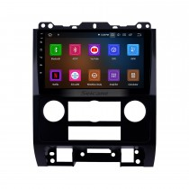 9 pulgadas Android 10.0 2007-2012 Ford Escape HD Pantalla táctil Navegación GPS Radio con USB Carplay Bluetooth WIFI compatible con 4G 1080P Video DVD Player