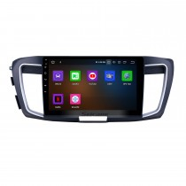 10.1 pulgadas 2013 Honda Accord 9 Versión alta Android 10.0 Navegación GPS Radio Bluetooth HD Pantalla táctil Carplay support Mirror Link