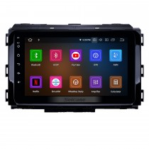 8 pulgadas 2014-2019 Kia Carnival Android 10.0 Navegación GPS Radio Bluetooth HD Pantalla táctil AUX Carplay Música compatible 1080P Video TV digital Cámara trasera