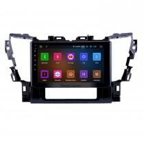 10.1 pulgadas Android 10.0 Radio para 2015 2016 Toyota Alphard Bluetooth Wifi Pantalla táctil GPS Navegación Carplay USB compatible DVR OBD2 Cámara de vista trasera