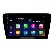 Android 10.0 10.1 pulgadas HD 1024 * 600 Radio de coche con pantalla táctil para 2015 2016 2017 SKODA Octavia (UV) Navegación GPS Bluetooth WIFI USB Conexión de espejo Soporte DVR OBD2 Control de volante Cámara de respaldo