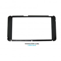 173 * 98mm Doble Din Toyota Etios LHD Car Radio Fascia Reproductor de Audio Stereo Install Frame Panel Plate